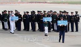 UNC tổ chức lễ tiếp nhận 55 bộ hài cốt binh sĩ Mỹ do Triều Tiên trao trả
