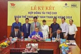Công bố nhà tài trợ chính thức cho Đoàn thể thao Việt Nam tại Asiad 18