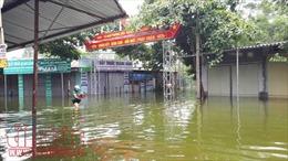 Hà Nội tiếp tục bơm tiêu chống úng, lụt