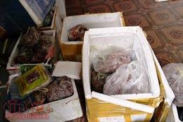 Tiêu hủy gần 260 kg thực phẩm tươi sống bị ôi thiu