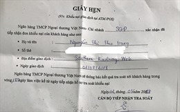 Tiền trong thẻ 'bốc hơi': Vietcombank sẽ cố gắng xử lý trong thời gian sớm nhất