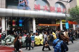 Hàng Trung Quốc tăng tốc đổ dồn về Việt Nam