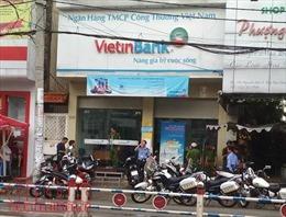 Cầm dao vào chi nhánh ngân hàng VietinBank để cướp
