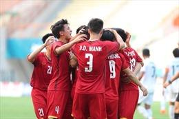 ASIAD 2018: Olympic Việt Nam giành chiến thắng 3-0 trong trận mở màn