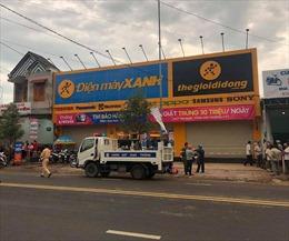Bảo vệ siêu thị Điện máy Xanh đâm chết quản lý rồi tự thú