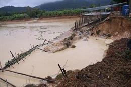 Vỡ đập chứa nước tại Bà Rịa - Vũng Tàu