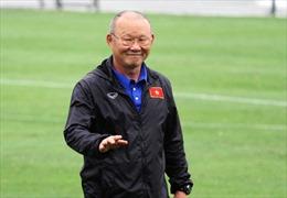 HLV trưởng Park Hang-seo trở lại với công việc sau kỳ nghỉ Tết