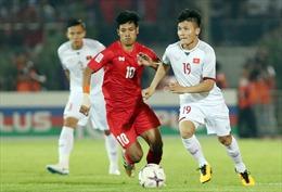 Chờ thêm siêu phẩm sút phạt của Quang Hải tại AFF Cup 2018
