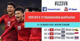 Ngày 10/3 sẽ bán vé vòng loại giải U23 châu Á 2020 bảng K tại Việt Nam