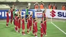 Cầu thủ Việt Nam ăn mừng theo kiểu Viking khiến báo nước ngoài phấn khích