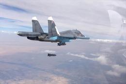 Đang dồn dập dội bom Idlib, Không quân Nga chuyển hướng sang nơi này
