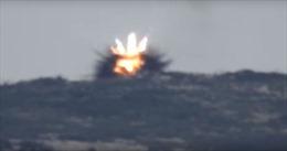 Khoảnh khắc phiến quân bắn tỉa Syria bị tên lửa chống tăng xé tan xác