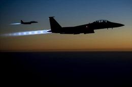 Liên quân Mỹ phá tan nhà thờ Syria nơi IS làm sở chỉ huy