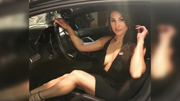 Người mẫu Mỹ tử vong vì bị bắn trúng cổ khi đang lái xe