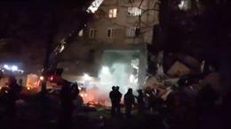 Sập chung cư nghi do nổ khí ga, ít nhất 3 người thiệt mạng, 79 người mất tích