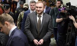 Nghị sỹ Nga bị bắt ngay giữa phiên họp Thượng viện với cáo buộc giết người