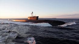 Nga'khoe' tàu ngầm hạt nhân mới lừng lững trên mặt biển