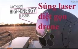 Vũ khí laser mới diệt gọn máy bay không người lái