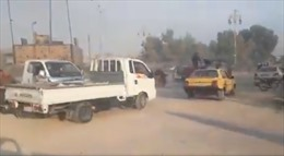 Video dân thường Syria nháo nhào bỏ chạy trước chiến dịch tấn công của Thổ Nhĩ Kỳ