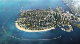 Trung Quốc đã xây xong đảo nhân tạo ngoài khơi Sri Lanka