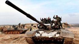 Quân đội Syria siết chặt vòng vây Aleppo trước đàm phán Nga-Thổ Nhĩ Kỳ