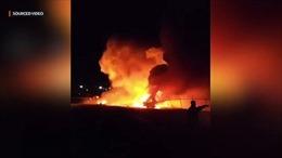 Máy bay chở bệnh nhân nổ tung tại Philippines, toàn bộ 8 người thiệt mạng