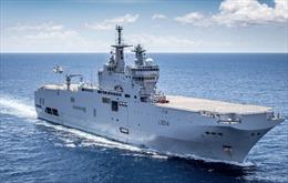 Vì sao Hải quân Pháp hiện diện ở Biển Đông?