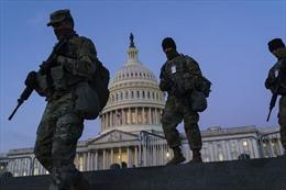 Mỹ mất nửa tỷ USD để duy trì Vệ binh Quốc gia tại Điện Capitol