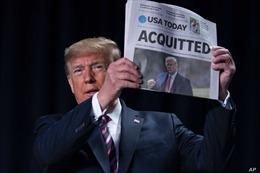 Không bị Thượng viện kết tội, cựu Tổng thống Mỹ Trump chưa hết thách thức phía trước