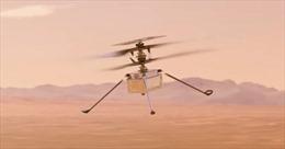 Hành trình lịch sử tới chuyến bay trực thăng đầu tiên trên sao Hỏa