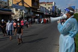COVID-19 tại ASEAN hết 4/5: Trên 69.000 ca tử vong; Campuchia kỷ lục lây nhiễm