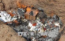 Hà Nội tịch thu và tiêu hủy số lượng lớn hàng không rõ nguồn gốc