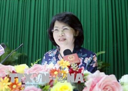 Phó Chủ tịch nước Đặng Thị Ngọc Thịnh: Hải Hậu cần nỗ lực trở thành một vùng quê đáng sống
