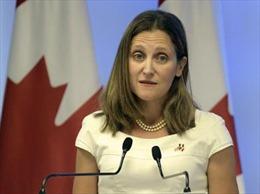 Canada tuyên bố sớm quay trở lại đàm phán NAFTA