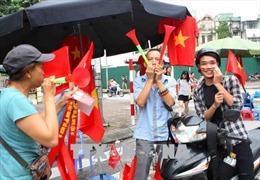 Cháy hết mình cùng đội tuyển Olympic Việt Nam