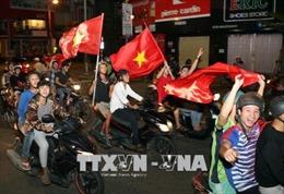 Cổ động viên Đà Nẵng tự hào về Olympic Việt Nam