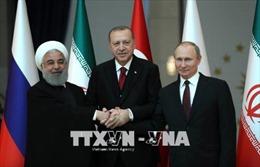 Điện Kremlin xác nhận cuộc gặp thượng đỉnh ba bên Nga - Thổ Nhĩ Kỳ - Iran