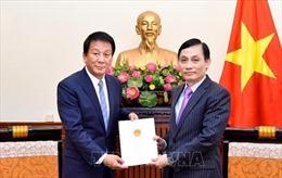 Gia hạn nhiệm kỳ Đại sứ đặc biệt Việt Nam - Nhật Bản