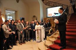 Trang trọng lễ kỷ niệm 73 năm Quốc khánh Việt Nam tại Vương quốc Bỉ