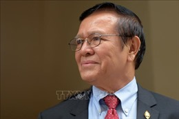 Campuchia trả tự do cho thủ lĩnh đảng đối lập