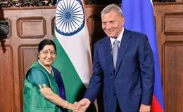 Ấn Độ, Nga đặt mục tiêu đầu tư hai chiều đạt 50 tỷ USD