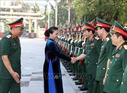 Chủ tịch Quốc hội Nguyễn Thị Kim Ngân dự Lễ khai giảng năm học 2018-2019 tại Học viện Quốc phòng