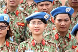 Lực lượng gìn giữ hòa bình Việt Nam đã sẵn sàng lên đường tới Nam Sudan
