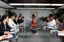 Lãnh đạo Cuba tin tưởng tiềm năng phát triển quan hệ hợp tác với Việt Nam