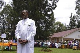 LHQ bố trí binh sĩ bảo vệ người đoạt giải Nobel hòa bình Denis Mukwege