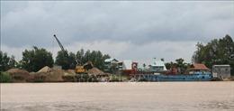 Quản lý khoáng sản trên sông Đồng Nai gặp khó vì 'cát tặc' ngày càng tinh vi