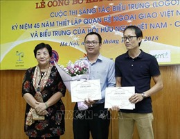 Trao giải Cuộc thi sáng tác biểu trưng kỷ niệm 45 năm quan hệ ngoại giao Việt Nam - Canada