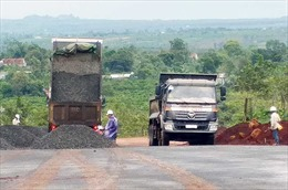 Gia Lai chậm tiến độ thi công dự án giao thông trọng điểm