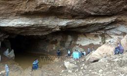 Sập hầm khai thác vàng trái phép làm hai người mất tích