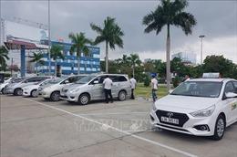 Tài xế taxi ở khu vực sân bay Đà Nẵng đình công phản đối Grab, xe dù